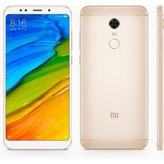 "Смартфон Xiaomi Redmi 5 Plus 3/32GB Gold, 8 ядер, 12/5Мп, 6"" IPS, 2SIM, 4G, 4000мА"