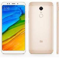 "Смартфон Xiaomi Redmi 5 Plus 3/32GB Gold Global, 8 ядер, 12/5Мп, 6"" IPS, 2SIM, 4G, 4000мА"