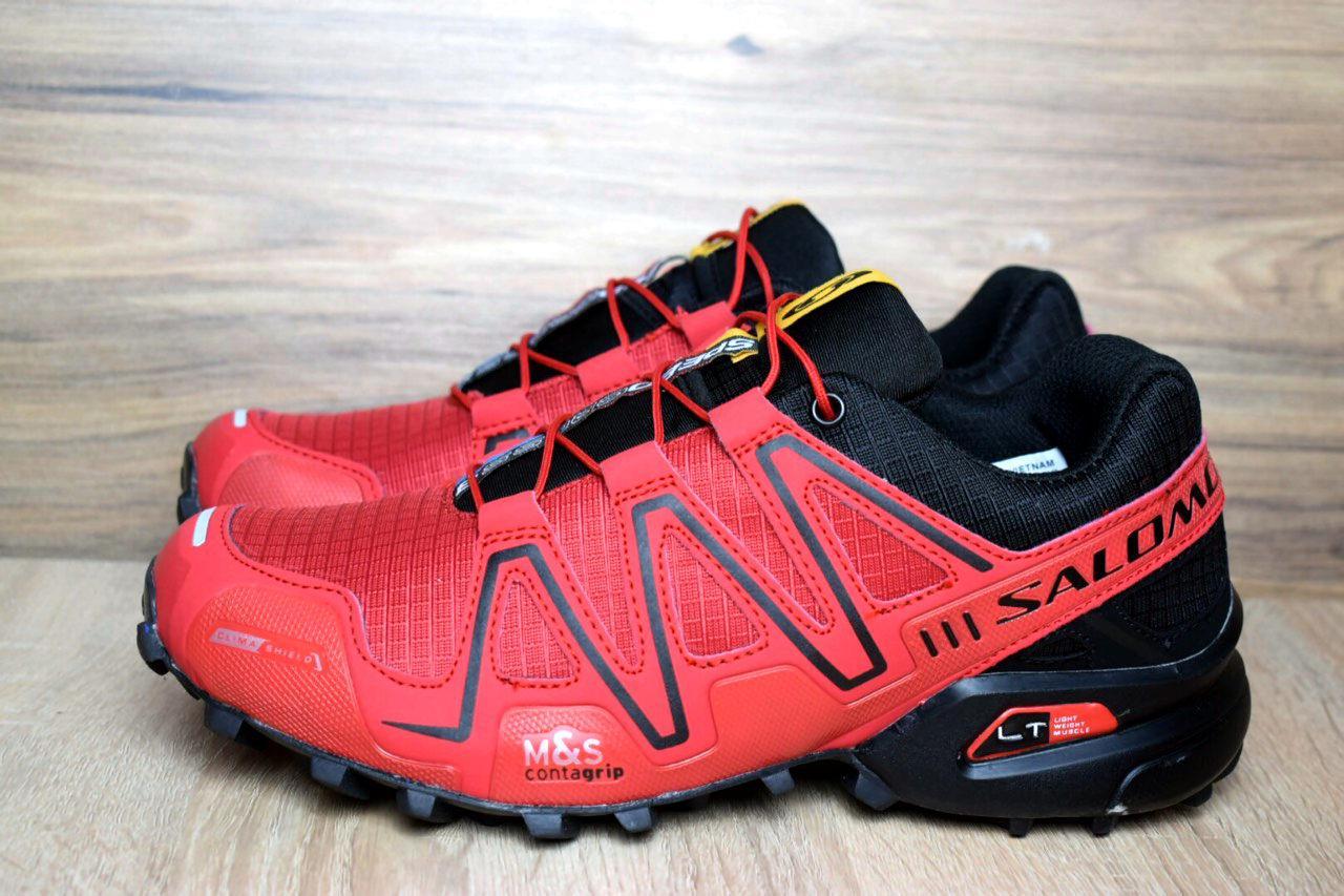 e3c654d2a Мужские кроссовки Salomon Speedcross 3 красные 1381 - Компания