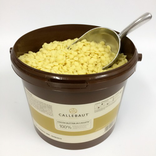 Barry Callebaut Cocoa Butter Масло - какао у формі дисків, 3 кг