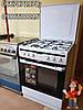 Газовая кухонная плита 60 см Amica 618GE1  с електрической духовкой