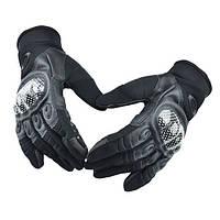 Тактические полнопалые перчатки Oakley Factory Pilot черные