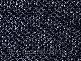 Сітка сумочно-взуттєва на поролоні артекс (airtex) колір темно синій