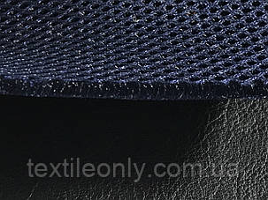 Сетка сумочно-обувная на поролоне артекс (airtex) цвет темно синий, фото 2