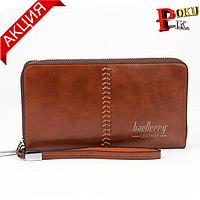 Клатч портмоне Baellerry Leather  Искусственная кожа, Новое, Коричневый