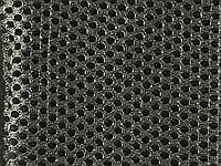 Сетка обувная на поролоне артекс (airtex) цвет темно серый