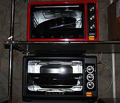 Духовка електрична ASEL AF-0023 38L з таймером (ЧЕРВОНА, 1300Вт)