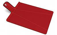 Разделочная доска Joseph Joseph Chop2pot 48x27х1.5 см Красная (60042), фото 1