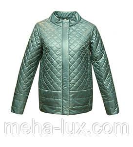 Куртка Chiago демисезон без капюшона короткая мятная