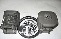 Цилиндр с поршнем Husqvarna (Хускварна) 125R, 128R (5450080-83, 5450010-01) покрытие никасил (для мотокос)