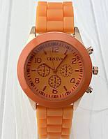 Яркие женские часы Geneva Orange, фото 1