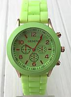 Яркие женские часы Geneva Lime
