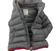 Детская демисезонная куртка для мальчика 26GRAY 110,116,122,128,134 см Серая