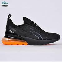 Мужские кроссовки Nike Air Max 270 Orange, Копия