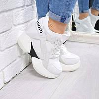Кроссовки женские на платформе Yamamoto 5039, спортивная обувь