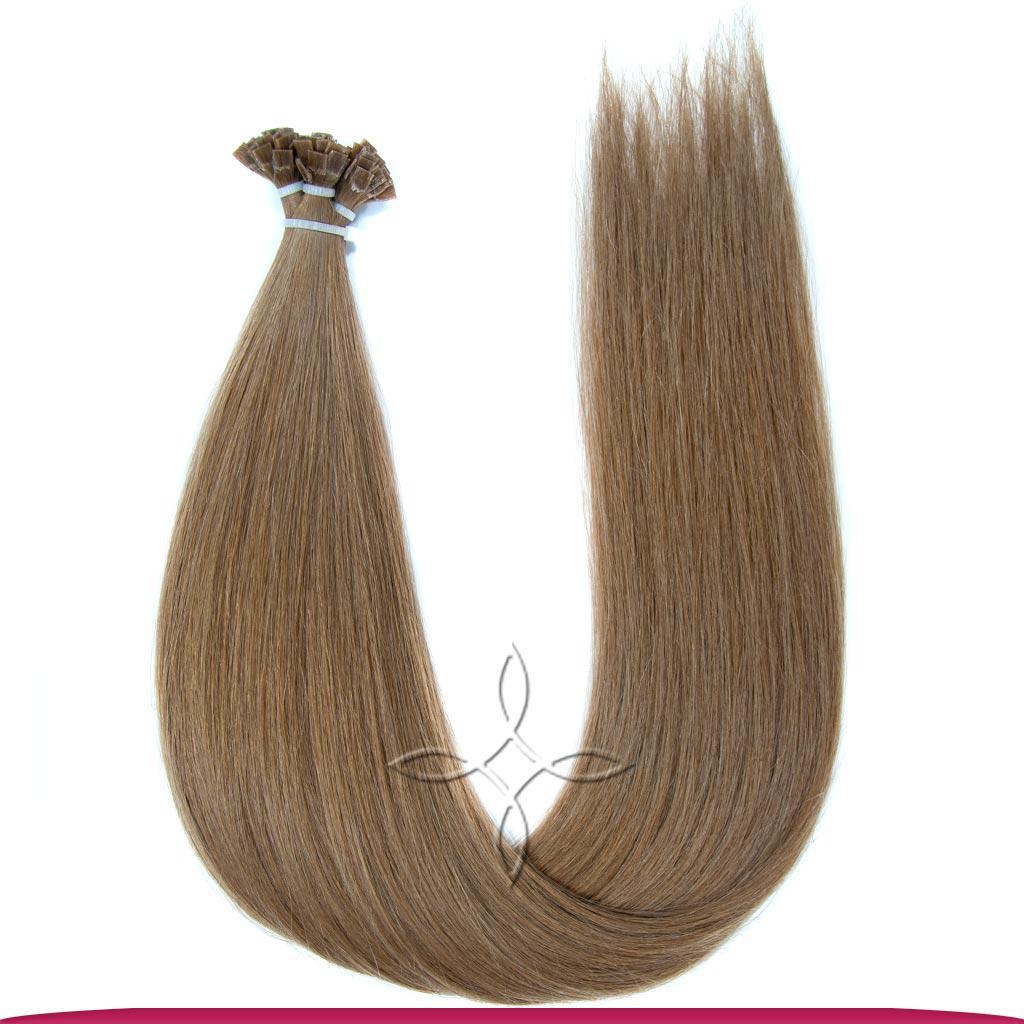 Натуральные Славянские Волосы на Капсулах 50 см 100 грамм, Шоколад №05B