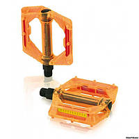 Педали XLC PD-M16, оранжевые