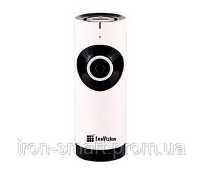 IP камера EvoVizion IP-mini-07, White, 1Mp, 1280×720, f=3.6 мм, ИК-подсветка до 8 метров, 73 x 76 x 100 мм