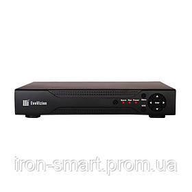 IP Видеорегистратор EvoVision NVR-4704, Black, 4 каналов, H.264, 1xVGA, 1xHDMI, 1xSATA (до 4Tb), 2xUSB, 260x160x43 мм