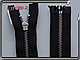 YKK металл никель №3 1 бег. 50cm,60cm,70cm, фото 2