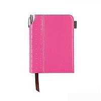 Набор: Блокнот А6 124л. ц.Розовый Cross Signature + ручка Cross. Cr236-3s