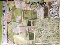 Декор для скрапбукинга оптом (бумага, наклейки, декор)