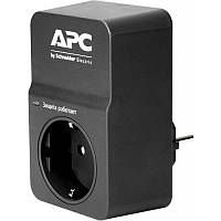 Фильтр Apc PM1WB-RS Essential SurgeArrest 1 outlet, black, new (PM1WB-RS)