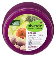 Восстанавливающее масло для сухих и поврежденных волос Alverde NATURKOSMETIK Haarbutter Repair, 200 ml