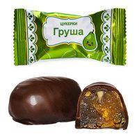 Шоколадные конфеты Груша в шоколаде т.м. Пригощайся