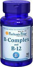 Puritan's Pride  Vitamin B-Complex and Vitamin B-12 90 Tablets