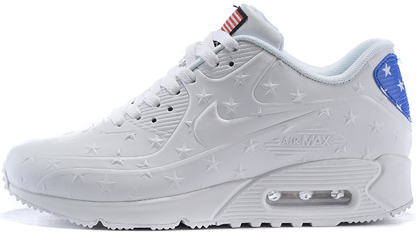 Nike Air Max 90 Hyperfuse QS USA Independence Day Star White   мужские  кроссовки - BOOT d8f1ca3b42c