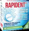 RAPIDENT Таблетки для очистки протезов, 32шт.