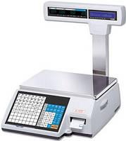Весы с чекопечатью CAS CL5000J P/R бу с WI-FI
