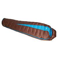 Спальный мешок Sir Joseph Paine 900/190/-12.4°C Brown/Turquoise (Left)