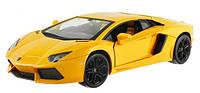 Машинка Meizhi р/у 1:24 лиценз. Lamborghini LP700 металлическая (желтый)
