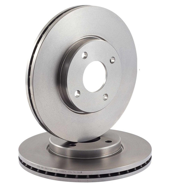 Тормозные диски передние на Renault Megane 2