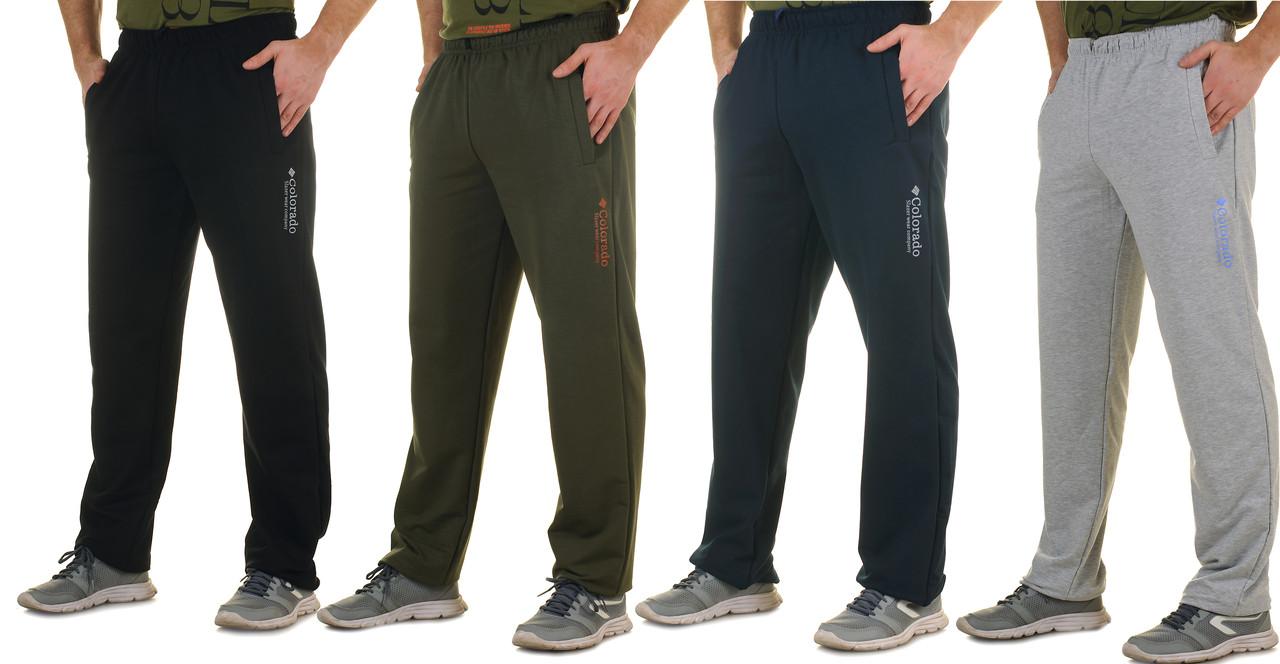 Демісезонні трикотажні чоловічі штани Colorado великі розміри