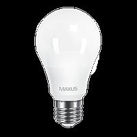 Светодиодная LED лампа MAXUS, 12W, 3000K, 220V, A65, Е27