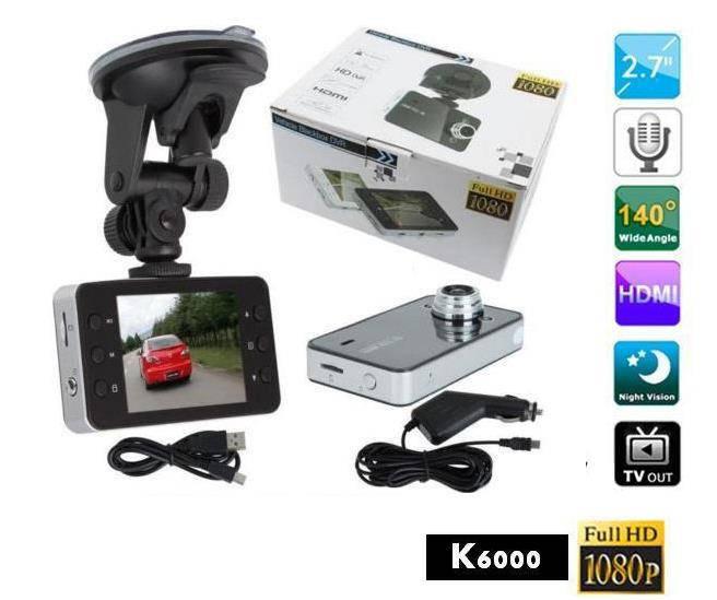 Автомобильный регистратор K6000 видеорегистратор
