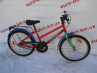 Спортивный велосипед Hanseatic 20 колеса 3 скорости на планитарке