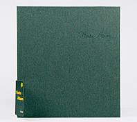 Фотоальбом на 20 магнитных листах, твердая обложка, цвет серый
