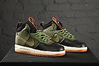 Nike lunar force 1 duckboot Green (зеленые)