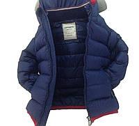 Детская демисезонная куртка мальчику 26BLUE 110,128,134 см Синий