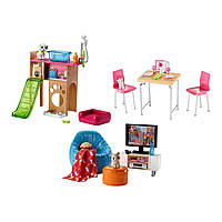 Набор мебели Barbie для дома, (3 в ассорт.), Barbie (DVX44)