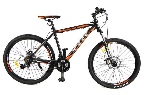 """Горный велосипед Crosser Count 26"""", 17"""" Черный / Оранжевый"""