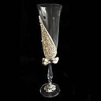 Свадебные бокалы из богемского стекла (190 мл/2шт.) BOHEMIA Sandy 8515