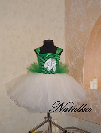 """Карнавальний костюм, юбка-платье из фатина  """"Подснежник"""", фото 2"""