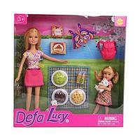 Кукла Люси Приятное воскресенье, 29 см (розовое), Defa Lucy (8282)