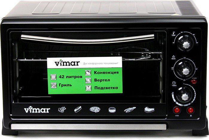 Электрическая духовка с конвекцией Vimar VEO-4240 объем 42 литра гриль подсветка