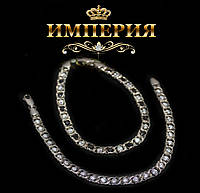 Браслет серебряный 925 пробы женский Арабка с камнями